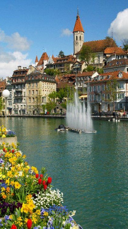 Thun, Switzerland.   ASPEN CREEK TRAVEL - karen@aspencreektravel.com