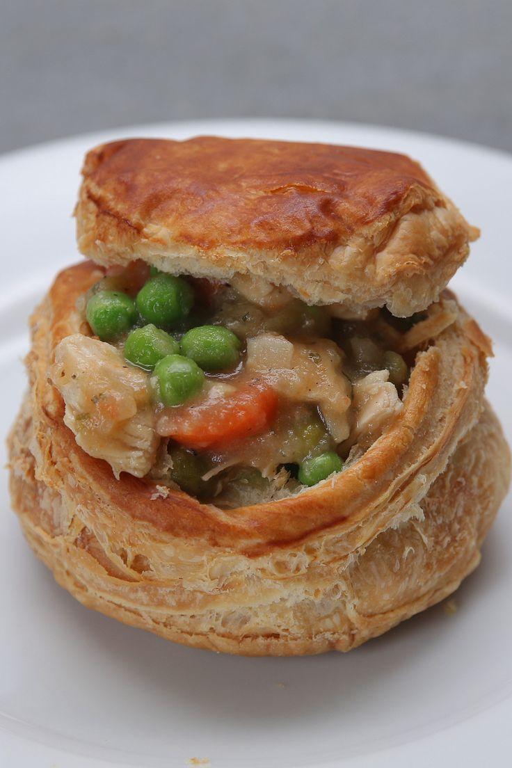Campbells recipe starters chicken pot pie