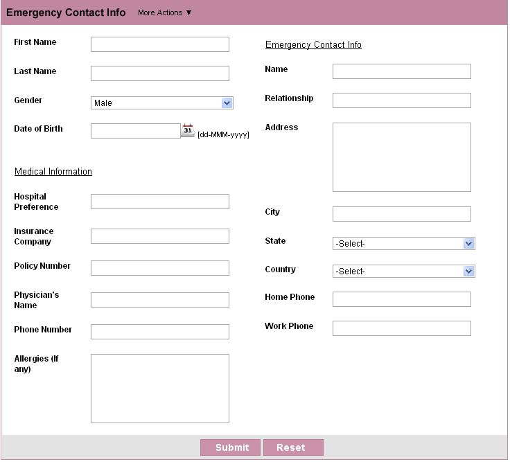 Customer Contact Form | HTML Form Builder | Free Web Form : Zoho Creator