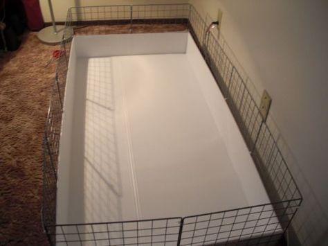 How to Build a C&C Guinea Pig Cage                                                                                                                                                      More