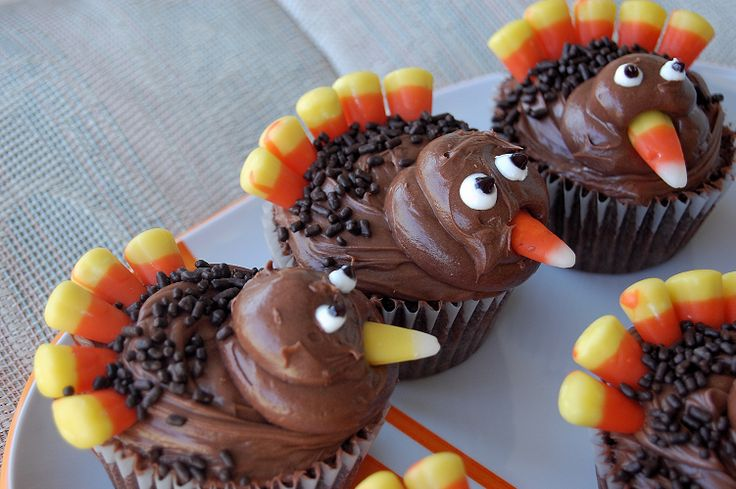 Easy Thanksgiving Cupcakes HD Wallpapers Wallpaper