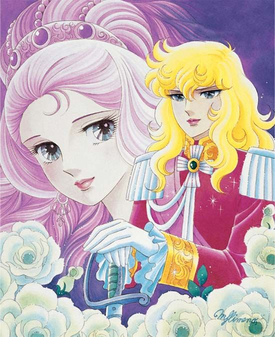 The early Eighties anime series Rose of Versailles is getting an English language release. Nobody ever expected that.    The Rose of Versailles Character Artwork
