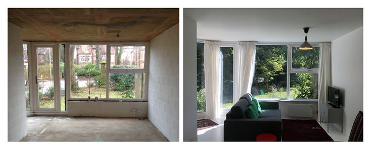 Thackley End Before | After Renovation by Bureau for Architecture and Urbanism