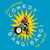 Comedy Bang Bang is a high-spirited get-together between host Scott Aukerman and his funny friends! You can expect conversation, music, improv, games, and most importantly plugs.