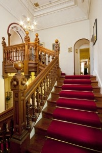 Staircase - Cluny Bank Hotel