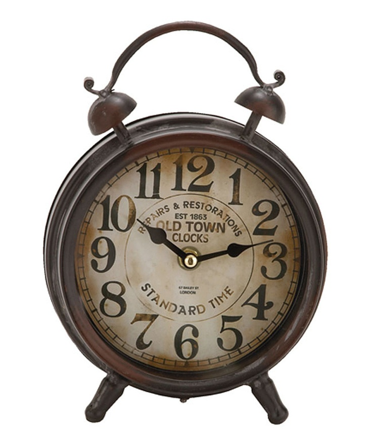Rustic Table Clock: 23 Best Images About Simple, But Really Cool Clocks On