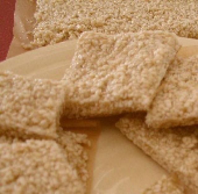 10-Minute Pasteli: Sesame Honey Candy Recipe: Pasteli: Sesame Honey Candy - the original energy bar