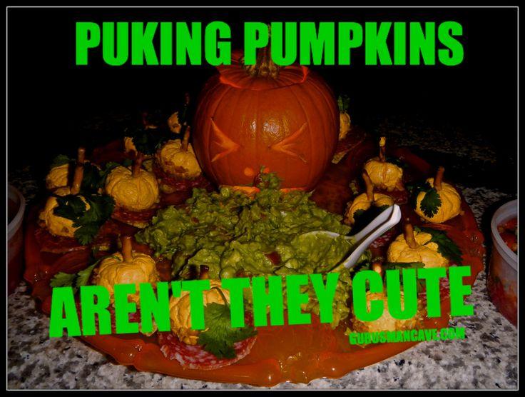 Puking Pumpkin Guacamole