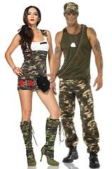 Sexy - Army Costumes
