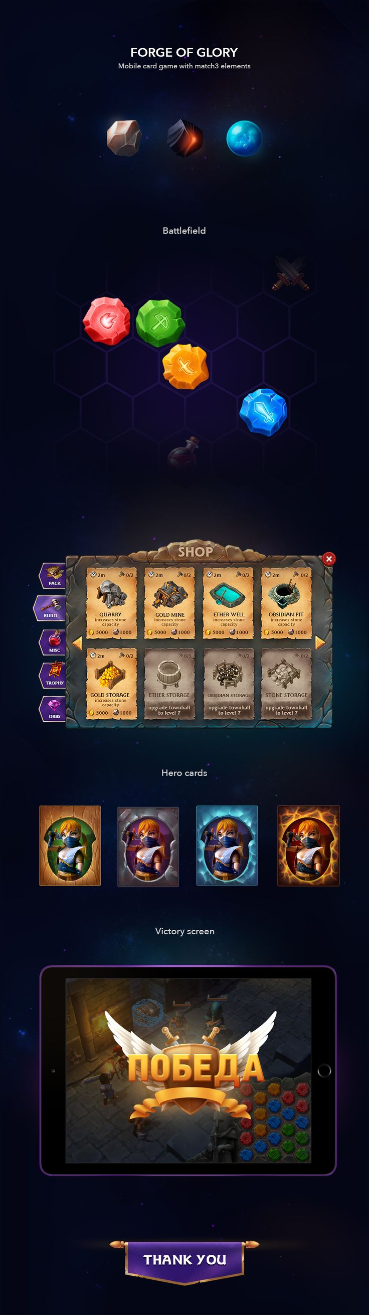 Forge of Glory on Behance