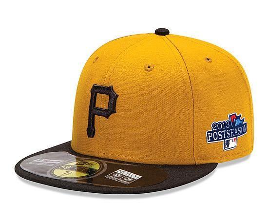 Pittsburgh Pirates Postseason Patch 59Fifty Fitted Baseball Cap by NEW ERA  x MLB  a64ff6dfaa9