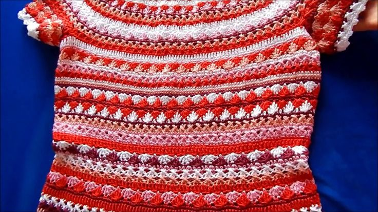 """Платье Сиенна крючком (The dress """"Sienna"""" by crochet)"""