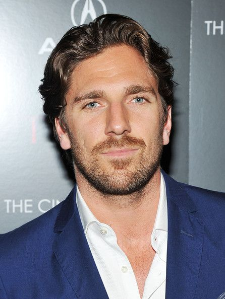 Henrik Lundqvist, the NY Rangers goalie.  Not food - but he sure looks delicious!