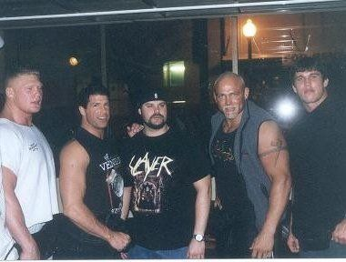 Brock Lesnar, Randy Orton and others in 2002