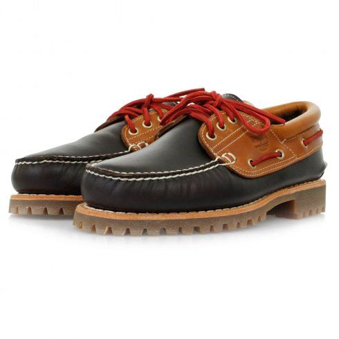 Timberland 3-Eye | Classic Lug Shearling Dark Brown Leather Shoes