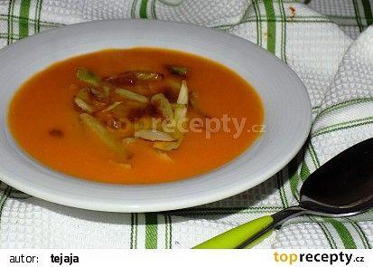 Batátová polévka s fenyklem recept - TopRecepty.cz