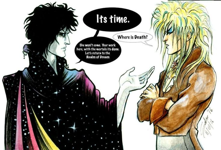 Dream takes Bowie (Jareth) home <I have this already but couldn't help a repin>