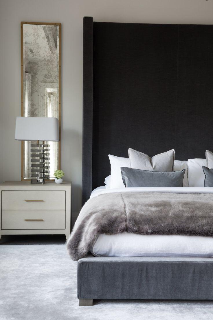 Farbgestaltung Schwarz Weiss Schlafzimmer Modern Inspiration