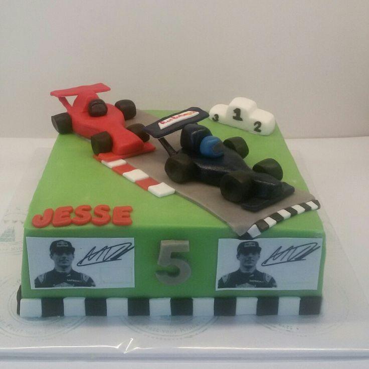 Formule 1 taart Max Verstappen taart