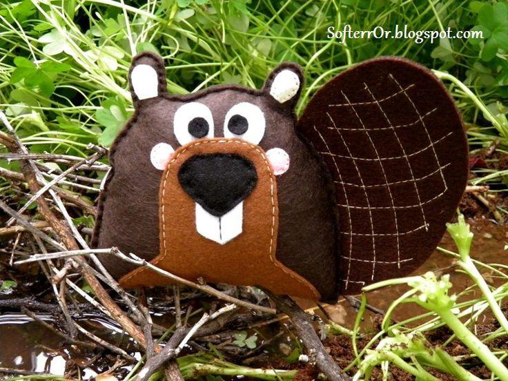 Felt Beaver