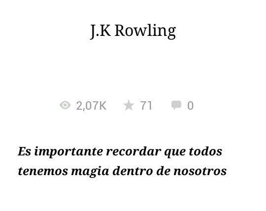 ~J.K. Rowling~