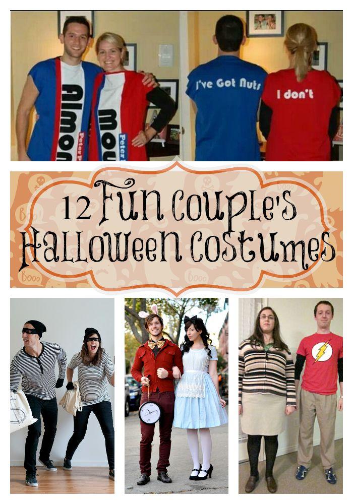 12 Fun Couples Halloween Costumes {i love} my disorganized life