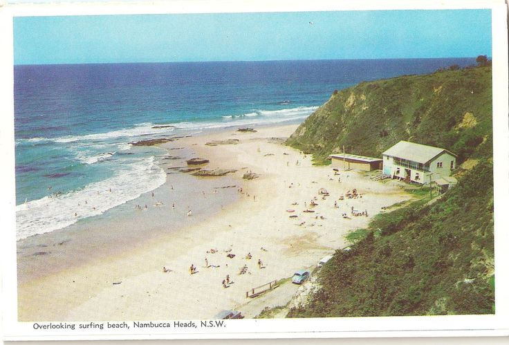 Beautiful Main Beach Nambucca Heads still a favourite with visitors to the Nambucca Valley.