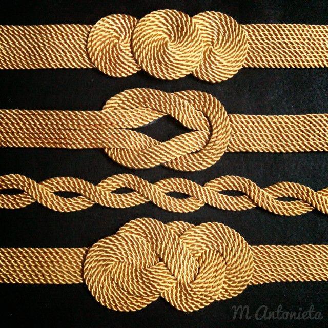 #cinturones #hechoamano #dorado #cinturondorado #cordones #cinturonesdecordones #cordondeseda #cinturon #fajin