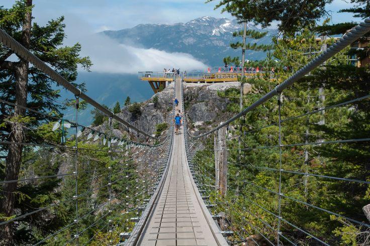 Sky Pilot Suspension Bridge, Squamish, British Columbia, Canada | by Peter Landman on 500px