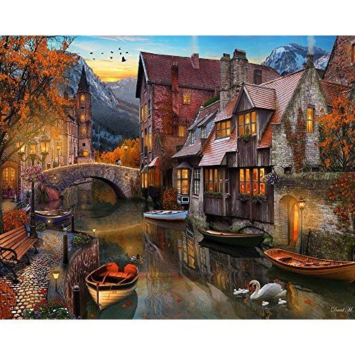 Ceaco Thomas Kinkade - A Mother's Perfect Day Puzzle, 1000Piece Puzzle