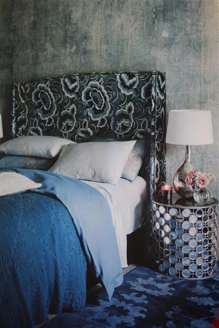 Heavenly Sleep - Blog   Bednest   Maddision bedhead upholstered in a Catherine Martin fabric for Mokum