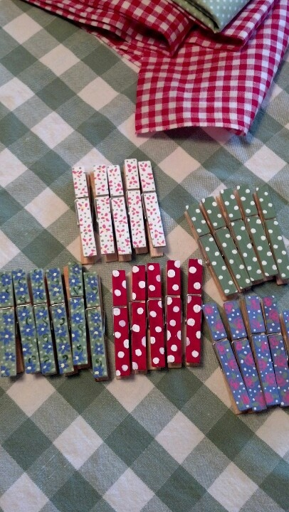 Painted clothes pins                                                                                                                                                                                 More