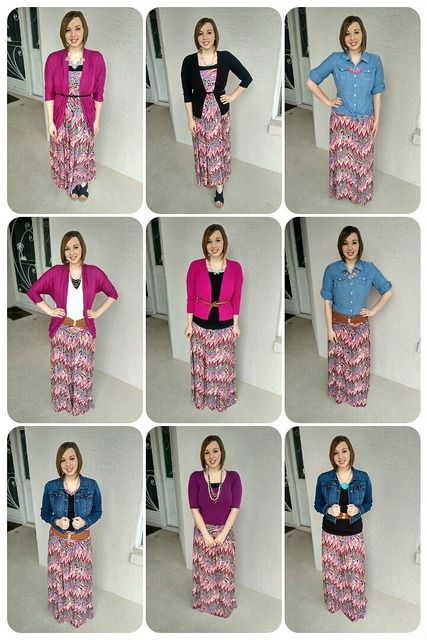 This is not a type 4 but an idea on how to wear a maxi skirt. One Skirt, 9 Ways