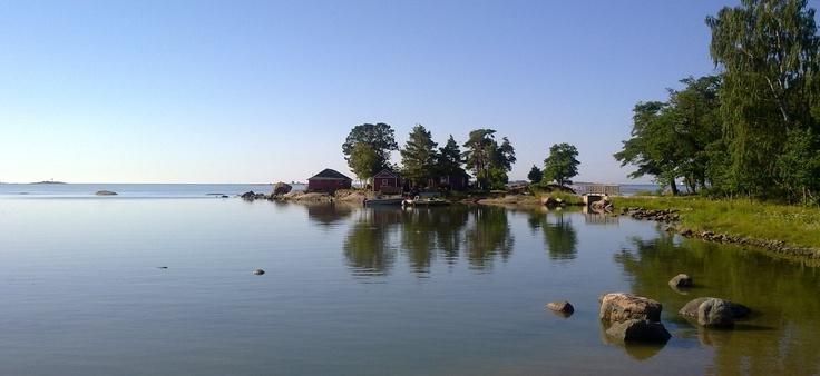 Pihlajasaari, an Island located in Helsinki