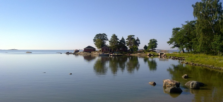 Pihlajasaari, an Island located in Helsinki