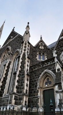 Dunedin's Gothic architecture influences the art and culture of the city