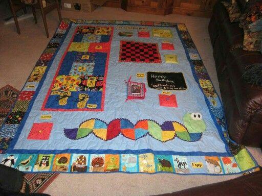 Sebastian s game quilt