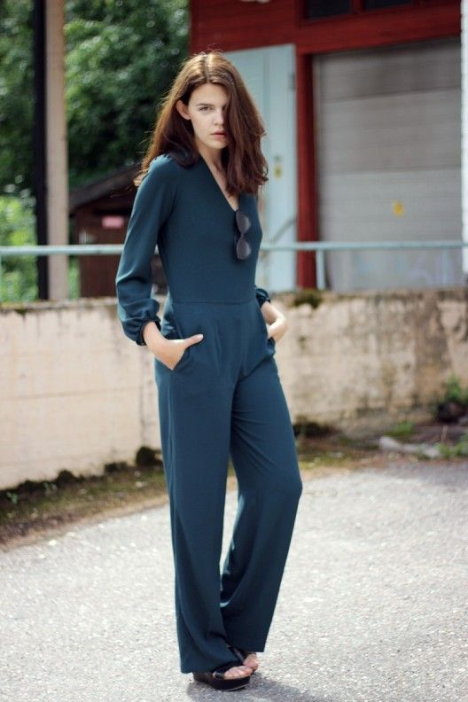 Emerald Green Jumpsuit (Sold Out)