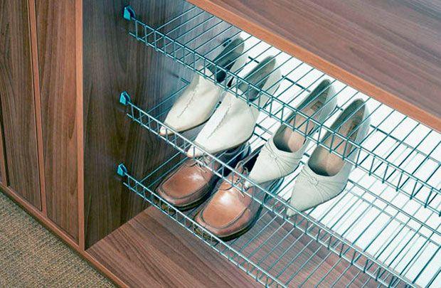 raflarda ayakkabı tutulması