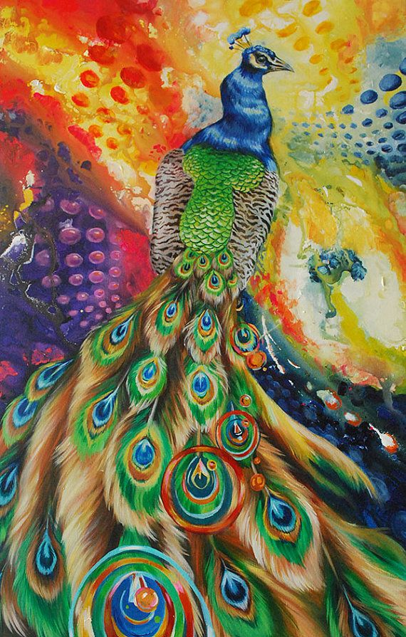 17 best images about painting peacocks on pinterest