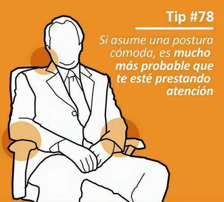 Tips De Lenguaje corporal Sin Orden numerico. - Taringa!
