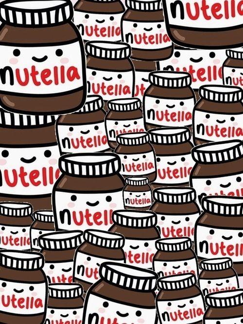 Nutella Baby | #ilustração #illustration #artedigital #digitalart #wallpaper #background