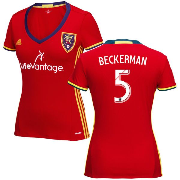 Kyle Beckerman Real Salt Lake adidas Women's 2016 Replica Primary Jersey - Red - $104.99