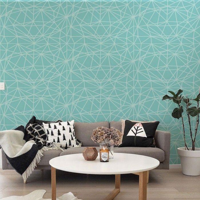 Oltre 1000 idee su carta da parati per la stanza su - Che colore dare alle pareti di casa ...