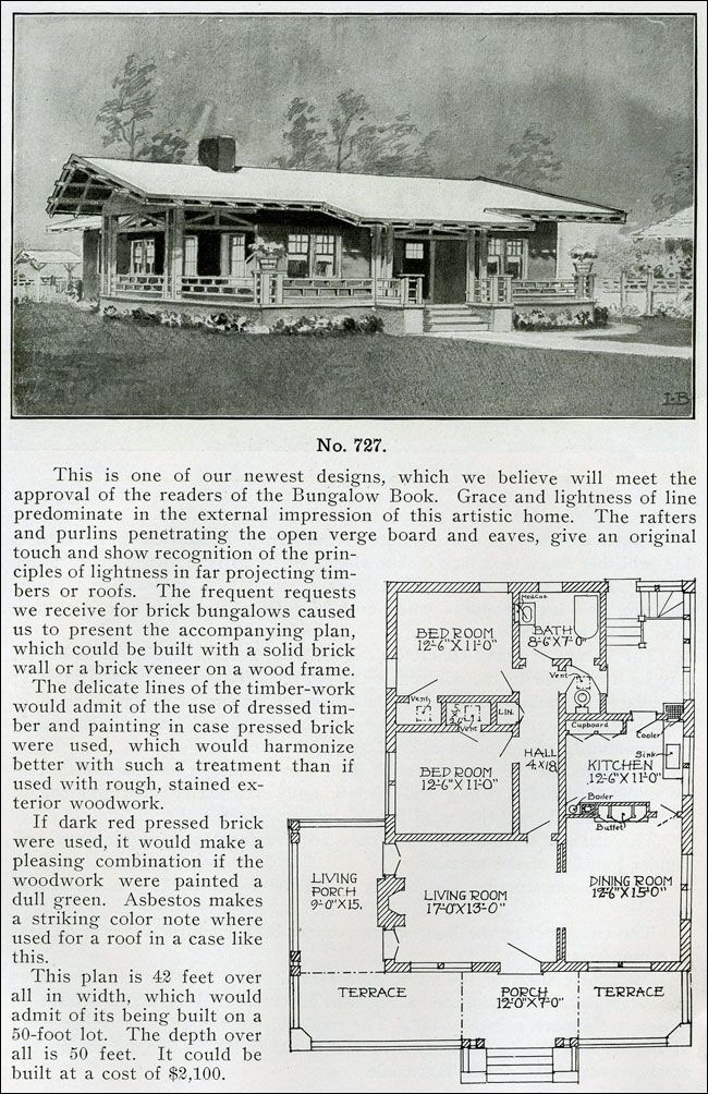 Homepage Vpins Vintage House Plans Bungalow Craftsman House