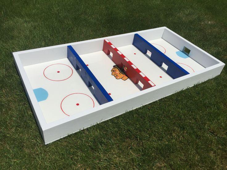 how to play box hockey