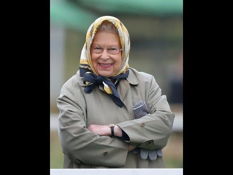 The Queen can't hide her delight as her horse wins a prestigious cup at ...