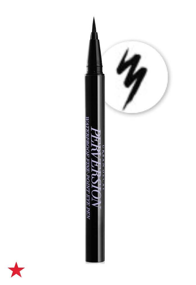 The eyes have it! So, make sure the windows to your soul are perfectly lined with Urban Decay Perversion Fine-Point Eye Pen before you meet up with that special someone. The long-lasting formula can even withstand an all-day date. Click to shop this eyeliner and more from Urban Decay at Macy's.