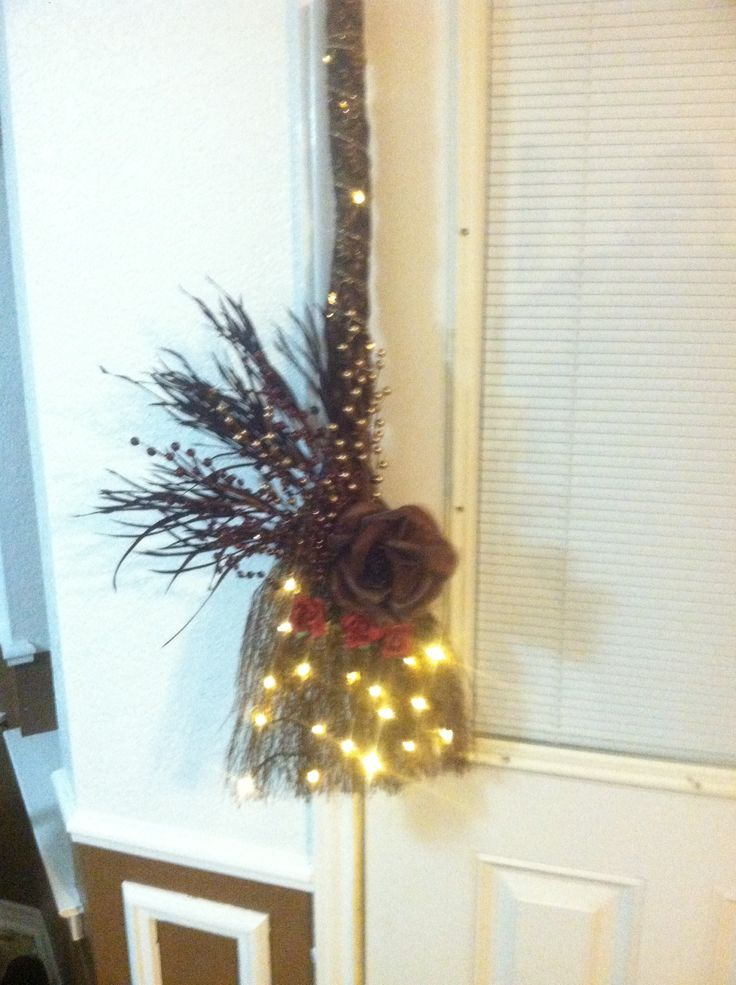 33 best images about brooms on pinterest for Straw brooms for crafts
