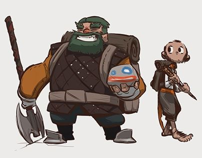 "Check out new work on my @Behance portfolio: ""D&D characters"" http://be.net/gallery/31692555/D-D-characters"